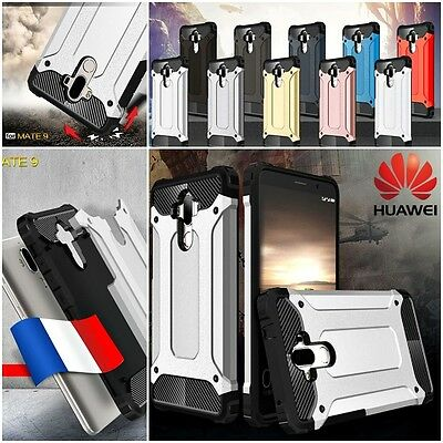 Etui housse coque antichocs armor shockproof hybrid Case Cover Huawei Mate 9