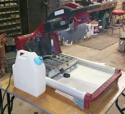 MK Diamond BX 4 Brick and Block Saw w/Diamond Blade & Misting System