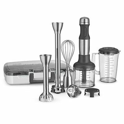 KitchenAid KHB2571SX 5-Speed Hand Blender - Brushed Stainless Steel
