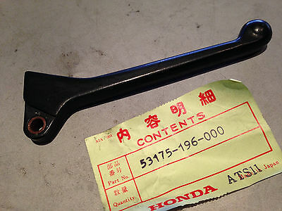 X10-5 Nh80 Nh125 Ch150 Ch125 Elite Aero Nos Right Handlebar Lever 53175-196-000