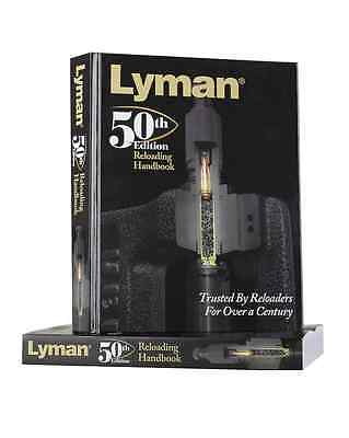 Lyman 50th Edition Reloading Manual Hard Cover