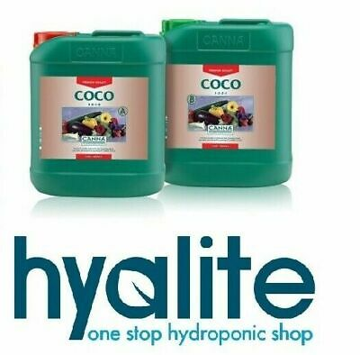 Canna Coco A & B 5L Hydroponic Nutrient 5 Litre