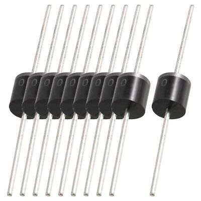 10 pcs Molded Plastic Case 1000V 10A Rectifier Diodes 10A10 F6