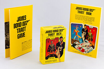 James Bond 007 Tarot Game - Vintage 1973 - Deck of Tarot Cards is NEAR MINT