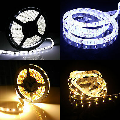 1M-20M Waterproof 5630 SMD 60Led Flexible LED Strip Light + Controller + Adapter