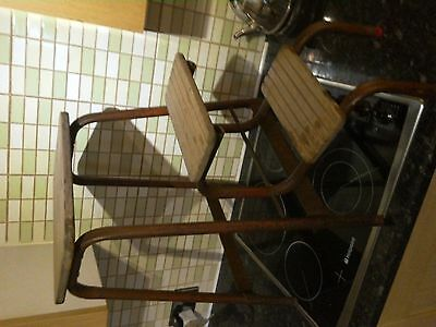 Vintage Kitcthen Step Stool / retro rare ( flip out step)pick up only