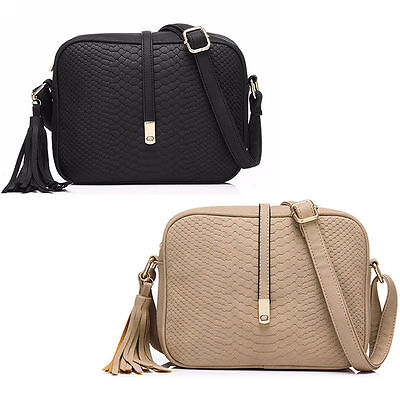 Fashion Women Lady Leather Satchel Handbag Shoulder Tote Messenger Crossbody Bag