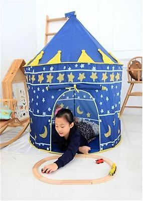 2017 Blue For Kids Outdoor Children Play Tent Portable Baby Toy Cute Game House