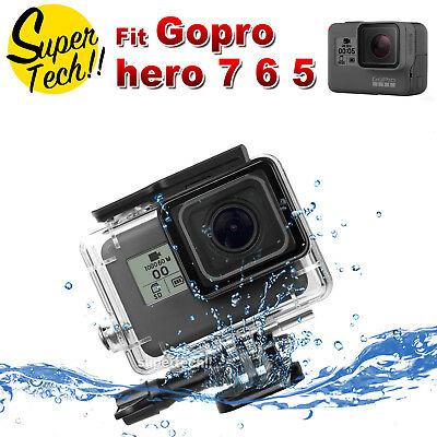 Underwater Waterproof Housing Case Protecting Cover Shell For Gopro Hero 6 5 OZ