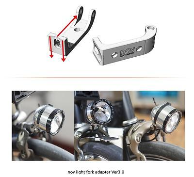 NEW!! nov Fork-shape light Adapter Ver3.0 for Brompton