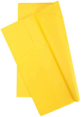 "Tissue Wrap 20""X20"" 10/Pkg Canary Yellow TGW8000-08040"