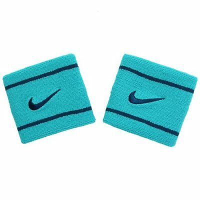 NIKE Dri-Fit Wristbands Size: 7.5cm x 7cm , Green x Black