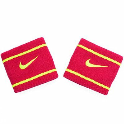 NIKE Dri-Fit Wristbands Size: 7.5cm x 7cm , Red x Yellow