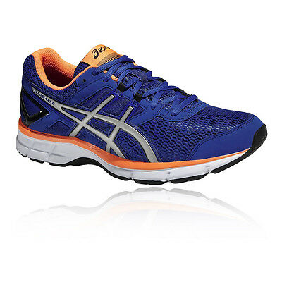 ASICS Gel-Galaxy 8 Mens Blue Cushioned Running Road Shoes Trainers Pumps