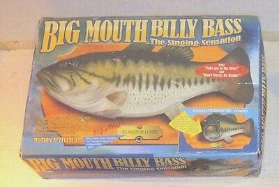 Big Mouth Billy Bass In Fair Conditioned Box