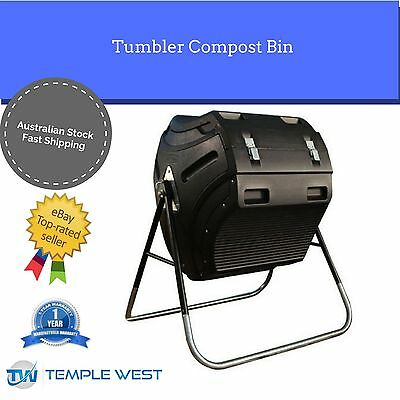 Lifetime 300L Tumbler Composter Compost Bin (60058) Recycling Food Waste
