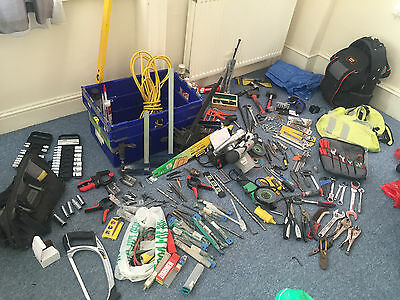 Complete set of steelworkers tools (rachets, spanners) a lot