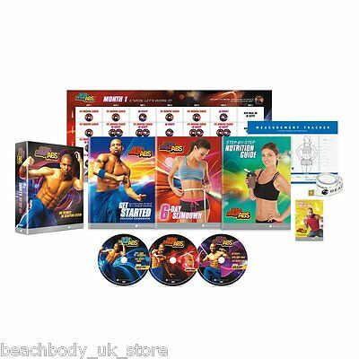 Shaun T's Hip Hop Abs Exercise Fitness Dance Workout Programme DVD Boxset