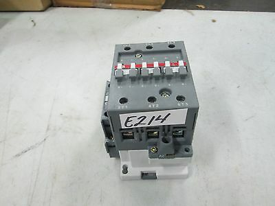 ABB Contactor A75-30 120 Volt Coil Removed From New Equipment (New)