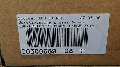 00300689-08 Siemens Siplace S15/F3 Conversion PC-Board Large Axis. New sealed