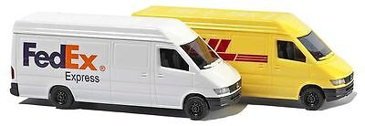N gauge Vehicles - Delivery Vans (N Scale) - Busch 8304 P3
