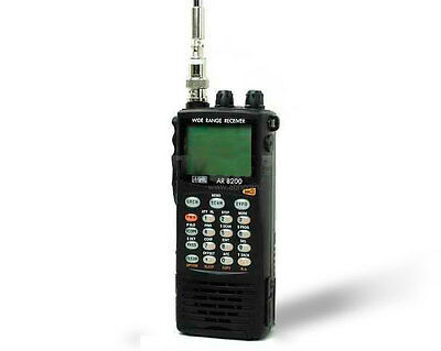 AOR AR8200-MK3 wideband communications receiver UNBLOCKED