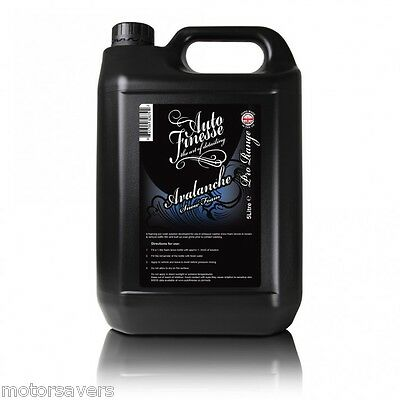 Auto Finesse - Avalanche 5 Litre Snow Foam - Free Fully Tracked Postage