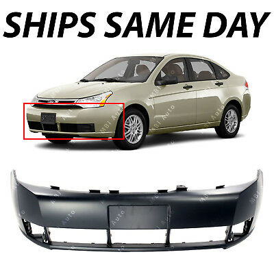NEW Primered - Front Bumper Cover Replacement for 2008 2009 2010 2011 Ford Focus