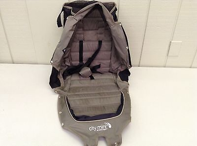 Baby Jogger City Mini Replacement Seat Fabric in Sand