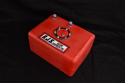Rjs Racing Equipment 8 Gallon Economy Fuel Cell Red 11002B-As