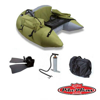 Belly Boot Deluxe Float Tube Pike'n Bass olive - Amiaud Bellyboot