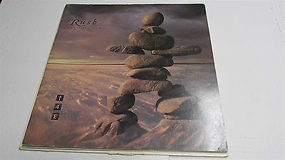 """RUSH Test For Echo 1996 Tour Book Program 32 Pages 12x12"""""""