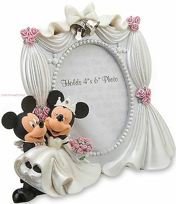 Mickey Mouse And Minnie Mouse Wedding Frame ~Disney Parks~ Priority Ship
