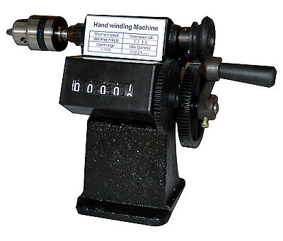 New NZ-1 Manual hand dualpurpose Coil counting and winding machine winder coiler