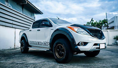 Mazda Bt50 Pro 12 13 15 Black Workmate Fender Flare Flares Wheel Arch Arches