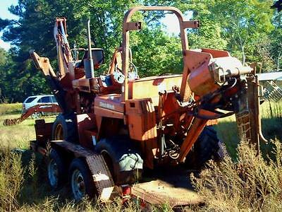 1988 Ditch Witch 5010DD Trencher Drilling & Mining