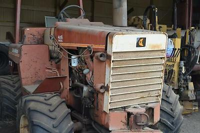 1986 Ditch Witch 4010DD Trenchers