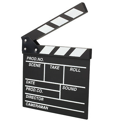 Creative Film Cut Action Movie Directors Clapboard Theater Party Decoration