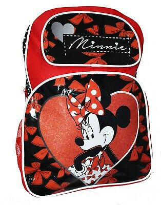New Large Boys Girls Kids Backpack Monster High Minnie Mouse Daycare Children