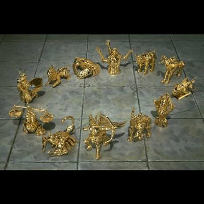 Saint Seiya APPENDIX Golden Cloth object set