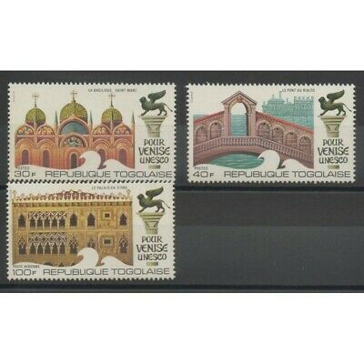 Togo - 1972- No 735/736 - PA 173 - Monuments