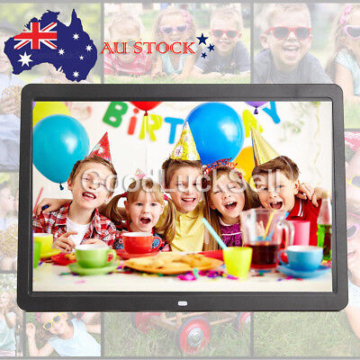 "17"" inch HD1080P LED Digital Photo Picture Frame Movie Player Remote Control AUS"
