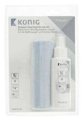 Konig Screen cleaning kit anti-drip fluid 120 ml