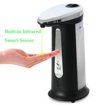 400ml Smart Touchless Automatic Soap Dispenser Electroplated Sanitizer Dispenser