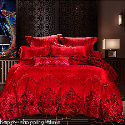 Bedding 4pcs set Long velvet cotton embroidery bed set bedcover sheet pillowcase