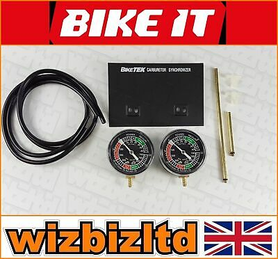 BIKETEK TWIN Carburettor BALLANCE Vacuum Gauge and Synchronizer - VGA2