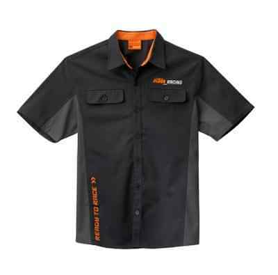 New Oem Ktm Mechanics Button Down Shirt Sx Xc Sxf Xcf Men's Small Upw1556802