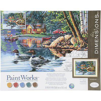"Paint Works Paint By Number Kit 16""X20"" Echo Bay 91474"