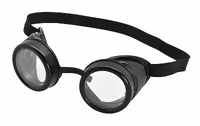 FANCY DRESS Pilot Goggles (Black Frame)