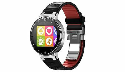 Brand New Alcatel Onetouch Smart Watch Sm02 - Black Red
